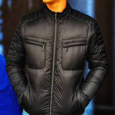Replenish the Men's Collection warm jacket