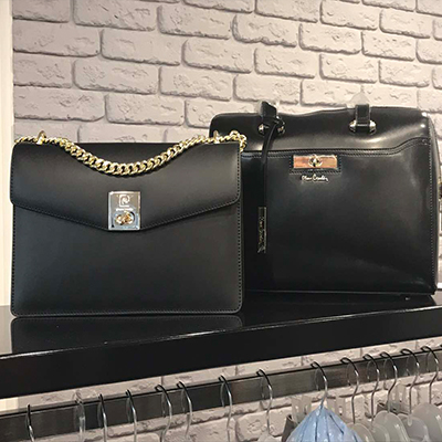 Clothes from Sandro Ferrone. New collection of bags
