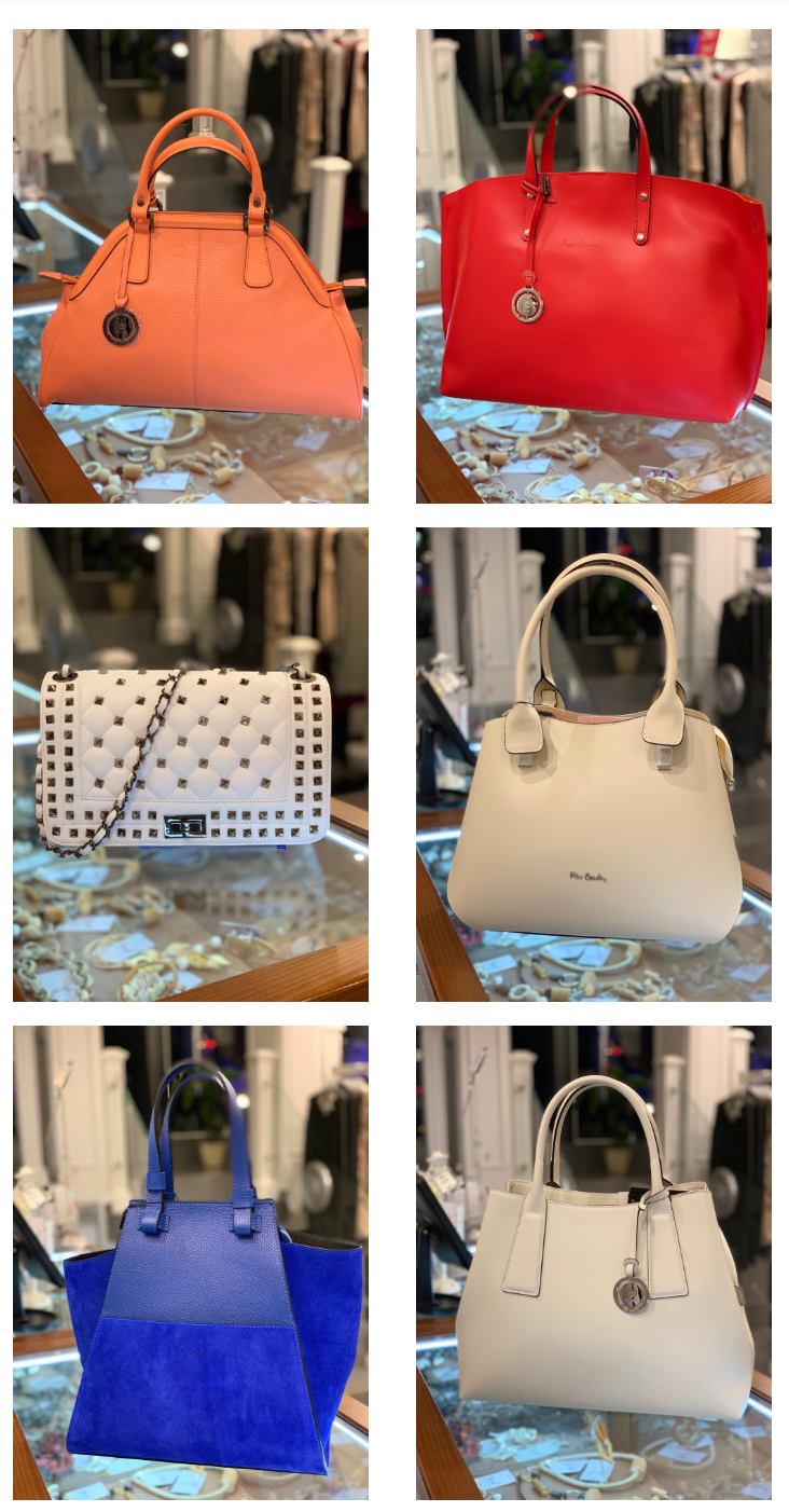 New spring collection of bags